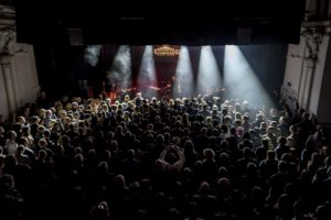 A captivated Slow Readers Club audience for IVW 2018