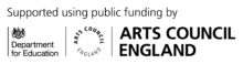 Arts Council Logo + Education
