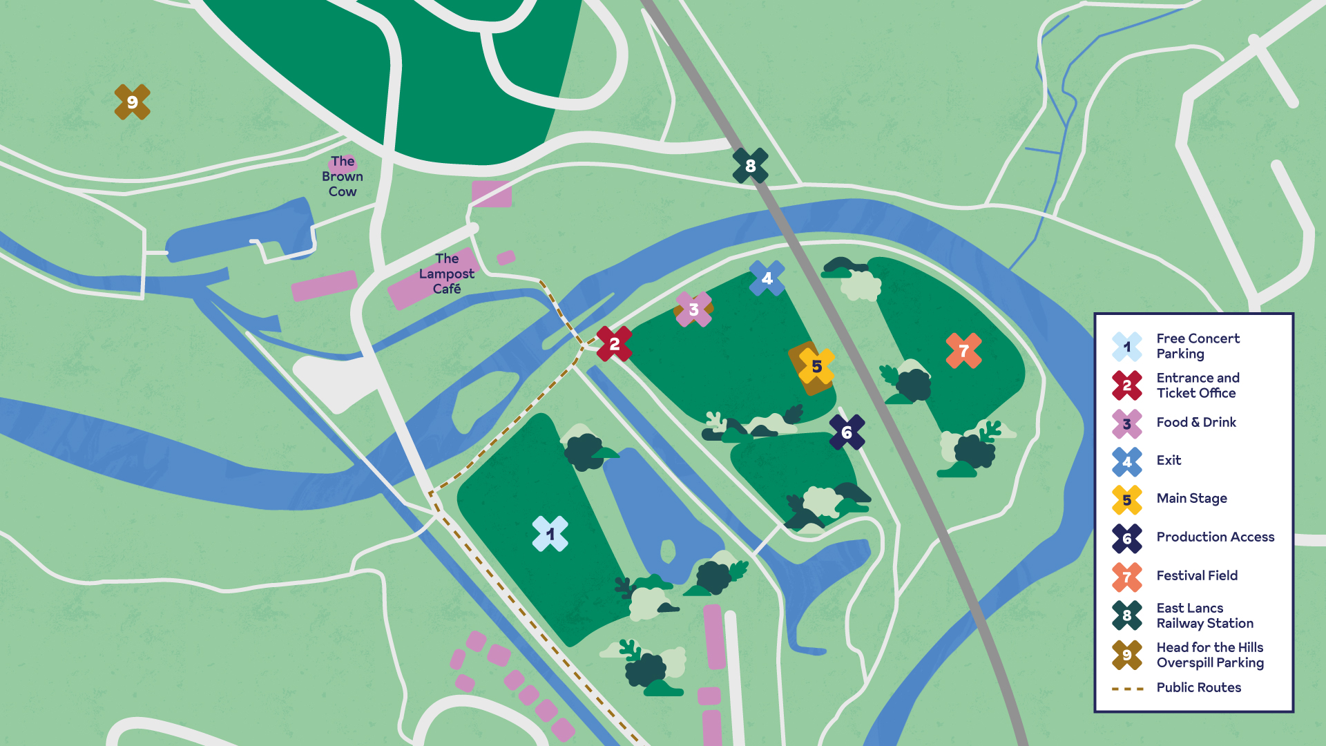 Burrs Live Site Map